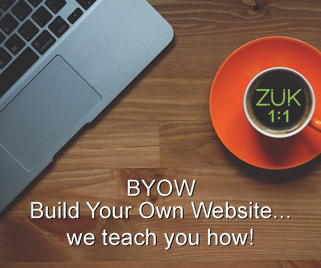 BYOW - website builder training